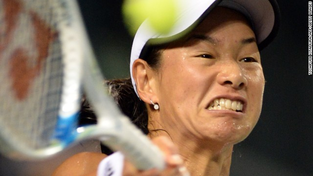 Kimiko Date-Krumm shows no sign of retiring for a second time as she notches up another win in 2013.