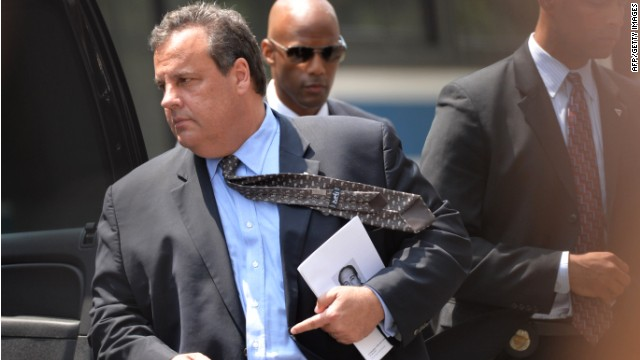 New Jersey Gov. Chris Christie has said he thinks the decision on same-sex marriage should be made by his state's voters.