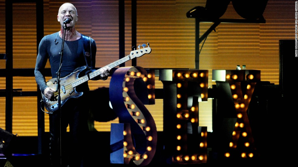 "Musician Sting, 64, has never been shy about sharing details of his sex life. He and wife Trudie Styler <a href=""http://www.telegraph.co.uk/news/celebritynews/8980773/Trudie-Styler-Tantric-sex-All-day-long-With-Sting-If-only....html"" target=""_blank"">aren't quite having tantric sex for hours, as rumor has claimed</a>, but they do like to keep things spicy. ""I don't think pedestrian sex is very interesting,"" he told <a href=""http://www.harpersbazaar.com/fashion/fashion-articles/sting-trudie-styler-interview-0211"" target=""_blank"">Harper's Bazaar in 2011</a>. ""There's a playfulness we have; I like the theater of sex. I like to look good. I like her to dress up. I like to dress her up. ... Romantic? We like tawdry."""
