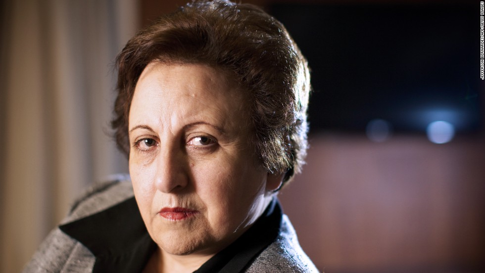 Iranian lawyer and human rights activist Shirin Ebadi won the Nobel Peace Prize in 2003.