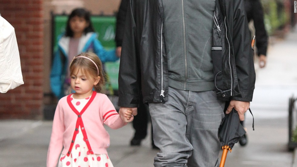 Matthew Broderick and daughter Tabitha are prepared for nasty weather in New York on October 10.