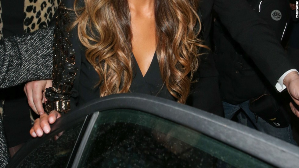 Nicole Scherzinger hits Cafe de Paris in London on October 9.