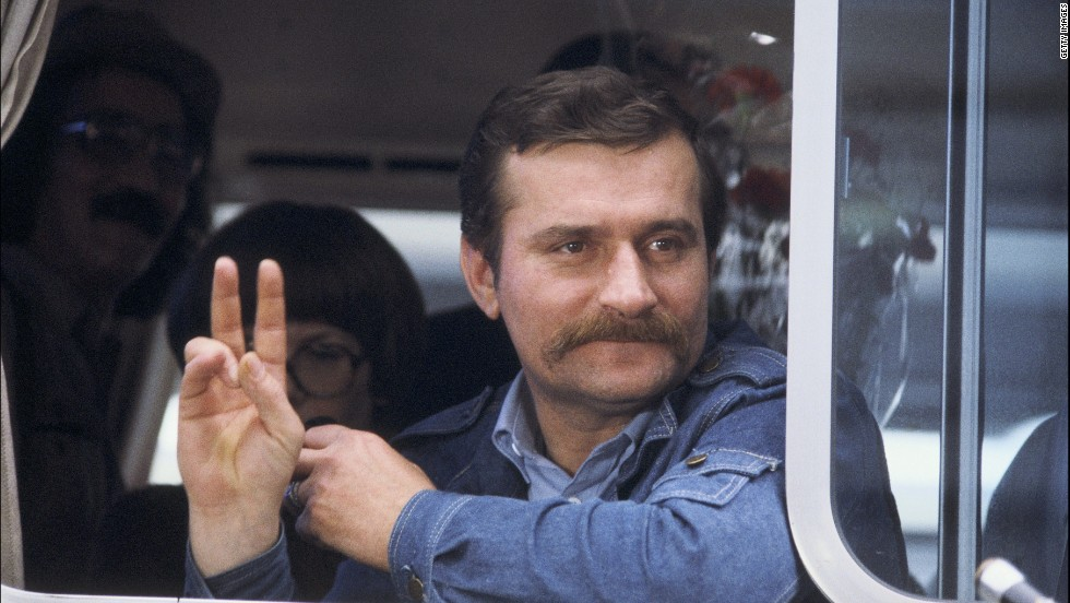 Former Polish President Lech Walesa won the Nobel Peace Prize in 1983.