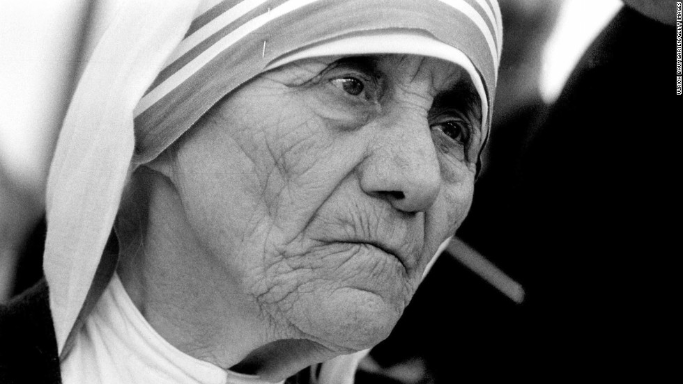 Mother Teresa, founder of the Missionaries of Charity order, won the Nobel Peace Prize in 1979.