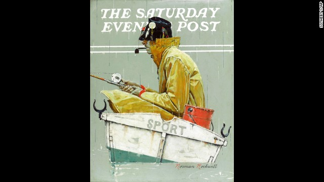 An image of the Norman Rockwell painting was published on the cover of the Saturday Evening Post in 1939.
