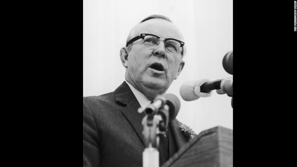 Canadian politician Lester Bowles Pearson won the Nobel Peace Prize in 1957 for his active role in attempting to prevent war.