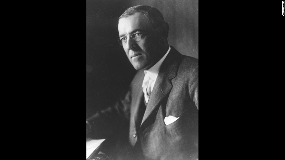 President Woodrow Wilson won the Nobel Peace Prize in 1919.