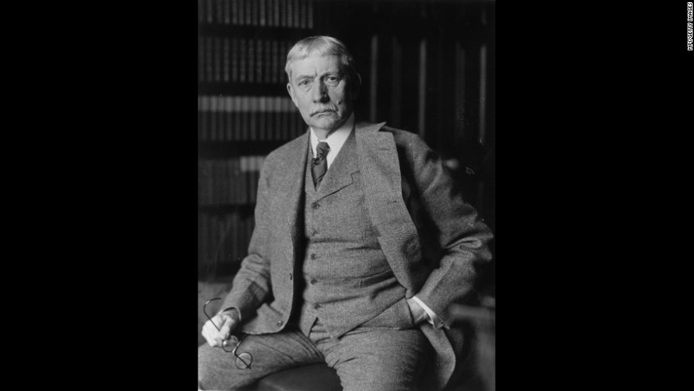 American jurist and statesman Elihu Root, who served as U.S. Secretary of War from 1899-1904, was awarded the Nobel Peace Prize in 1912 for his promotion of international arbitration.