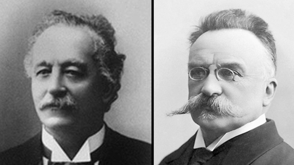 Swiss activist Elie Ducommun and Swiss lawyer Charles Albert Gobat won the Nobel Peace Prize in 1902.