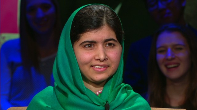 Malala on the Nobel Peace Prize