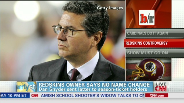 Daniel Snyder won't change Redskins name