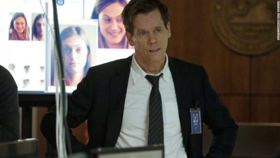 "Kevin Bacon's dark suspense drama ""The Following"" lasted three seasons on Fox before cancellation."