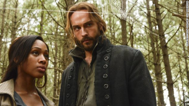 """Sleepy Hollow"" breaks ground with two African-American actresses in leads. Nicole Beharie stars with Tom Mison."