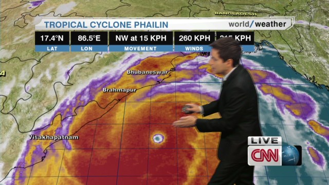 Cyclone Phailin to cause major damage