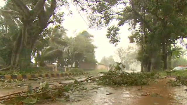 India surveys damage from Cyclone Phailin