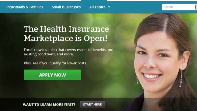 Glitches on Obamacare website