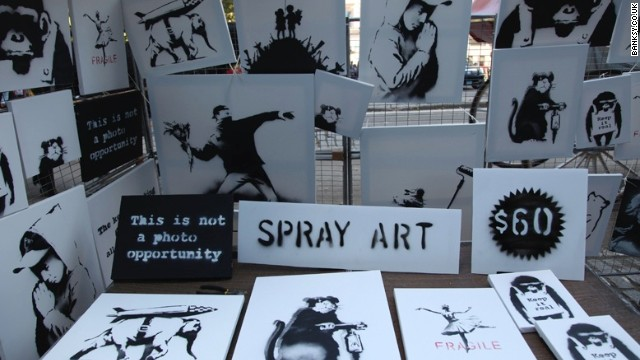 They got Banksy art for $60