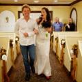 Jon Bon Jovi bride down aisle 2013