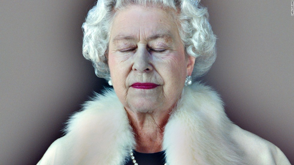 Levine produced this 3D image of Queen Elizabeth II in 2004. The portrait was commissioned to celebrate 800 years of the island of Jersey's association with the British monarchy.