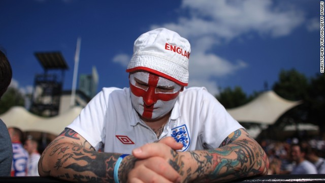 England fans have endured years of misery at the World Cup.