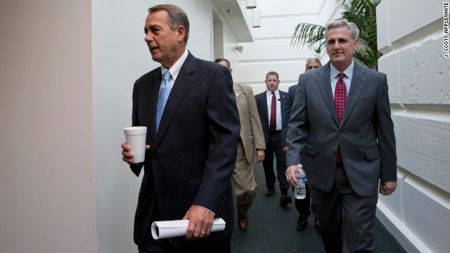 Boehner: Idea of default is wrong