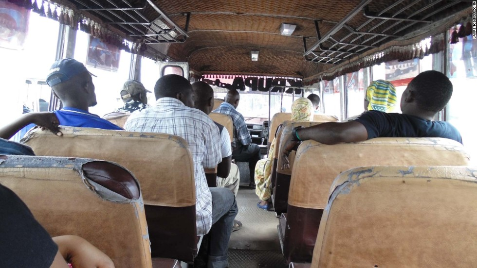 """A dala dala is a bus (""""dala dala"""" for """"dollar,"""" which used to be the standard fare) in Dar es Salaam. The interiors aren't exactly sumptuous. But for getting around Tanzania's biggest city they're a local favorite -- cheap, practical, everywhere."""