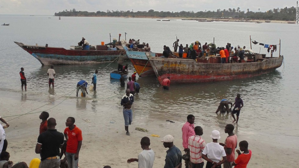 Dar's fish market is located near Kivukoni Front. Get there early and you can see catches being hauled in and auctioned off each day.