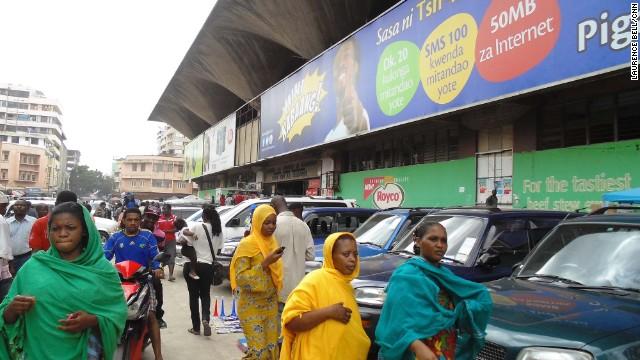 East Africa's biggest market.