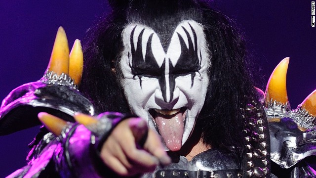 Gene Simmons: a beacon of musical knowledge and reason (Image: CNN)