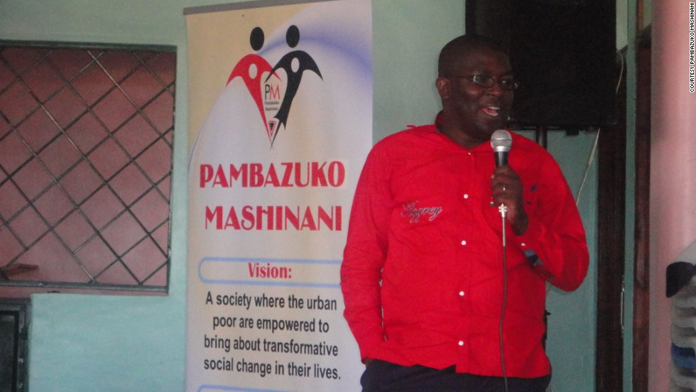 """People say we are poor because we are lazy, but I started seeing it through a different lens altogether,"" says Otieno. ""People are poor because we are denied equal opportunities to access to education, access to health and also to have better living standards."""