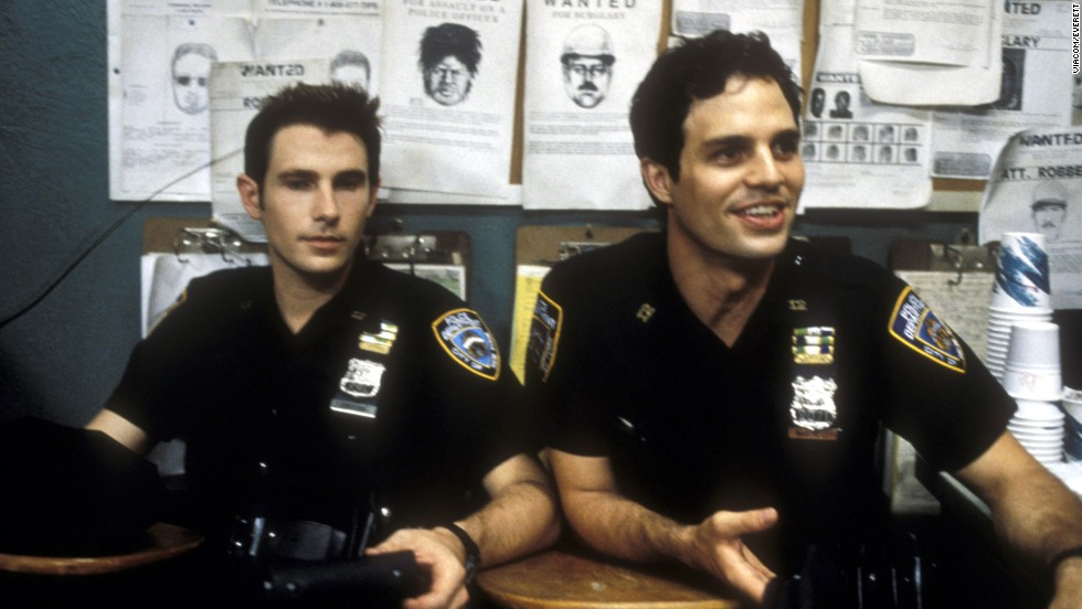 "Munch also appeared on the short-lived TV show ""The Beat"" in 2000, which featured actors Derek Cecil, left, and Mark Ruffalo. The episode was called ""They Say It's Your Birthday."""