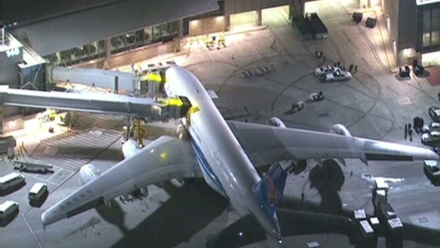 The blasts caused flight delays two days at LAX.