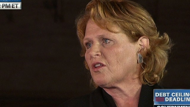 Sen. Heitkamp on middle class
