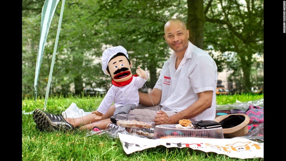 """Just to let you know, I'm out here promoting my company. I know you wanted my photo because you thought I was a grown-ass man sitting around with a puppet."""