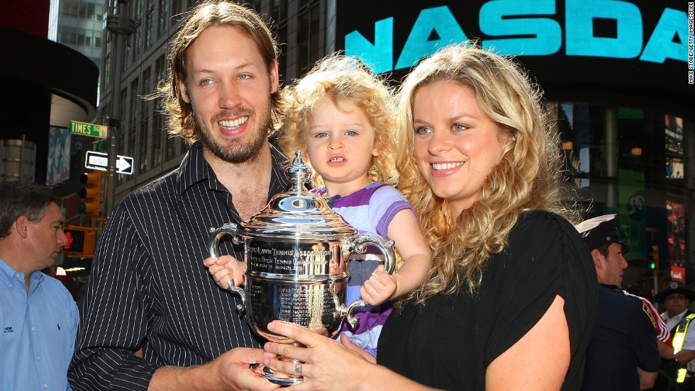 Now retired, Clijsters is happily married to former American basketball player Brian Lynch, with whom she has two children.