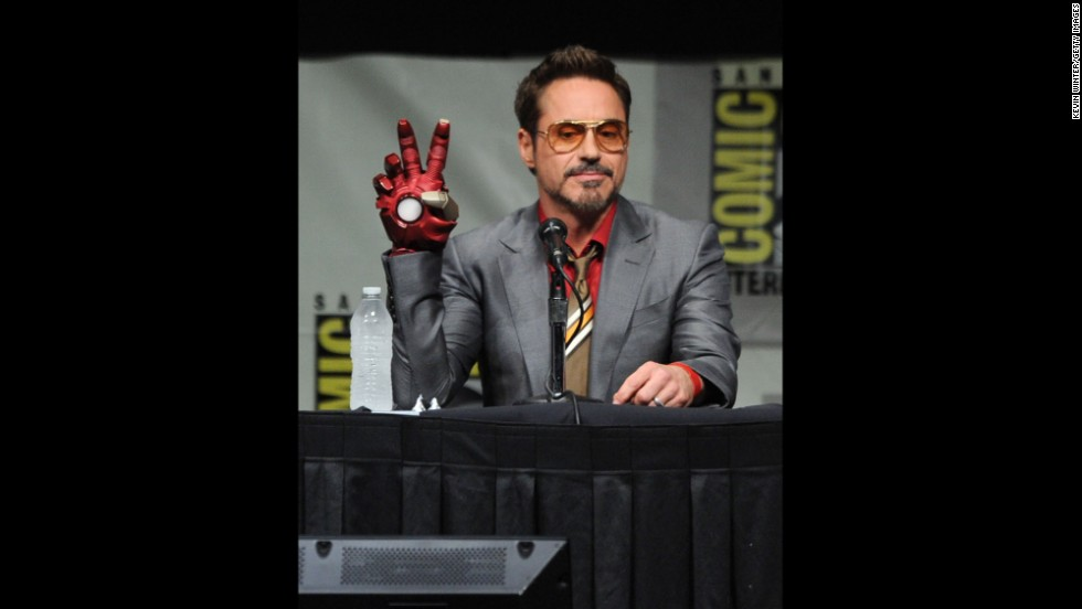 "If Robert Downey Jr. keeps making Marvel movies, he might come close to amassing a fortune to rival his heroic character, Iron Man. The 48-year-old star has rebounded from his not-so-distant career lows to become <a href=""http://www.forbes.com/sites/dorothypomerantz/2013/07/16/robert-downey-jr-tops-forbes-list-of-hollywoods-highest-paid-actors/"" target=""_blank"">the highest-paid actor in Hollywood this year</a>, earning an estimated $75 million."