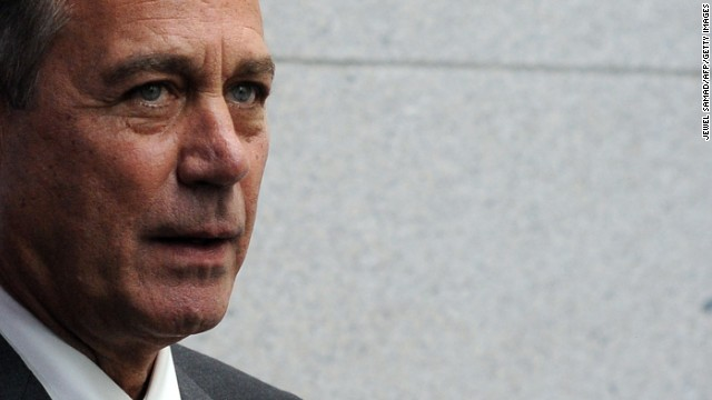 Boehner: 'We fought the good fight'