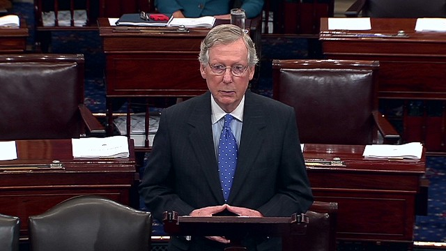 McConnell: 'Time to unite' on deal