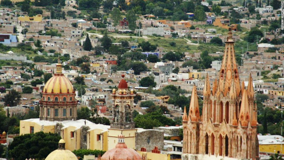 """The lack of street lights and billboards makes the region romantically and historically beautiful, and the city itself offers a traditional feeling of a small town in the heart of Mexico."" Which is why this central Mexican city was voted No. 1."