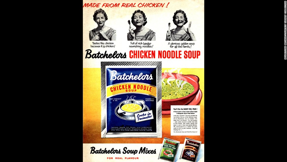 "If Grandma's chicken noodle soup isn't available, Brits can always grab a bowl of Batchelors. You may scoff at the old-school remedy, but <a href=""http://abcnews.go.com/Health/story?id=117888"" target=""_blank"">science has shown</a> soup is worth a trip to the store when you're sick."