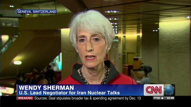 U.S. negotiator discusses new Iran talks