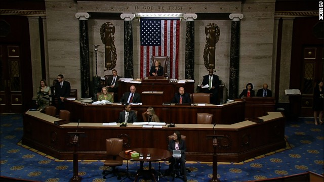 House approves bill to end shutdown