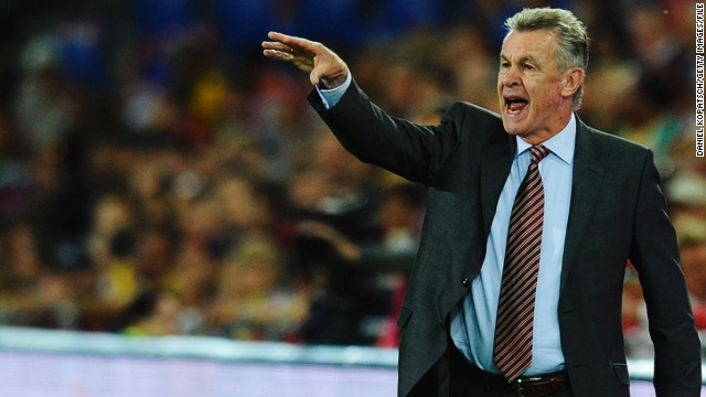 Ottmar Hitzfeld led Switzerland through their World Cup qualification campaign unbeaten