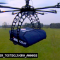 drone uses dominoes copter