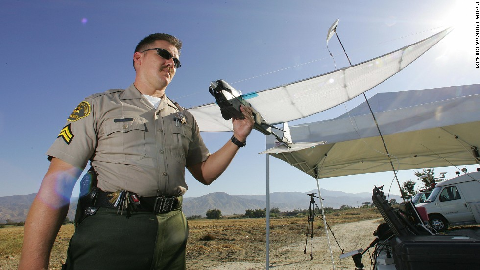 "Drones, often more resilient than humans, make for an ideal search party, as they can be pre-programmed to scan an area inch-by-inch. <a href=""http://sheriff.lacounty.gov/wps/portal/lasd"" target=""_blank"">Los Angeles County Sheriff's Department</a> began experimenting with the SkySeer Search and Rescue drone as early as 2006."