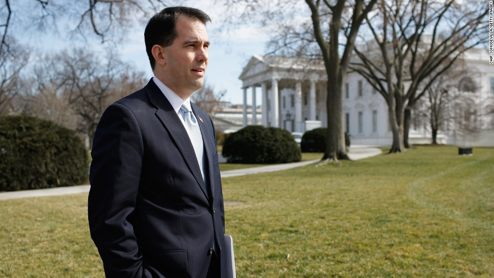 Gov. Scott Walker of Wisconsin is considered a possible Republican candidate, but he told CNN that his priority is to first help the GOP capture the Senate in next November's midterms.