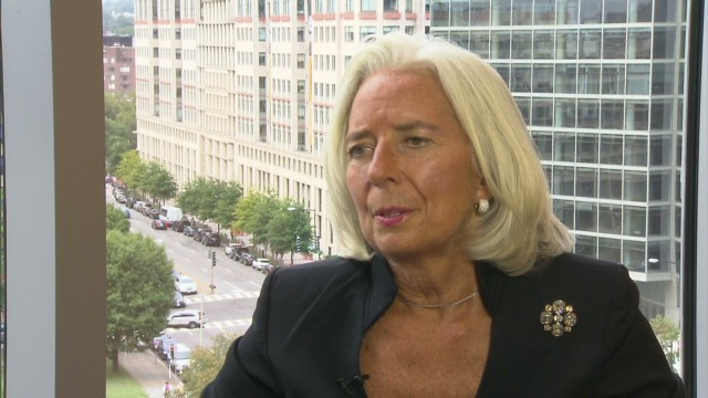 Lagarde warns of European complacency