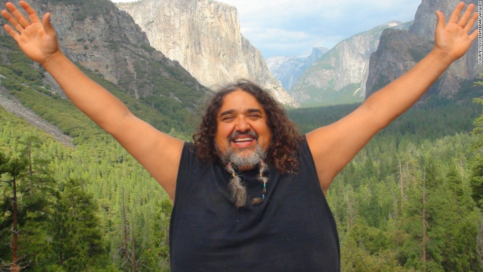 """Yosemitebear Vasquez gained popularity with his awe-inspired description of a<a href=""""http://www.youtube.com/watch?v=OQSNhk5ICTI"""" target=""""_blank""""> double rainbow</a> in 2010. The YouTuber recently joined <a href=""""http://ireport.cnn.com/people/Yosemitebear"""">CNN iReport.</a>"""