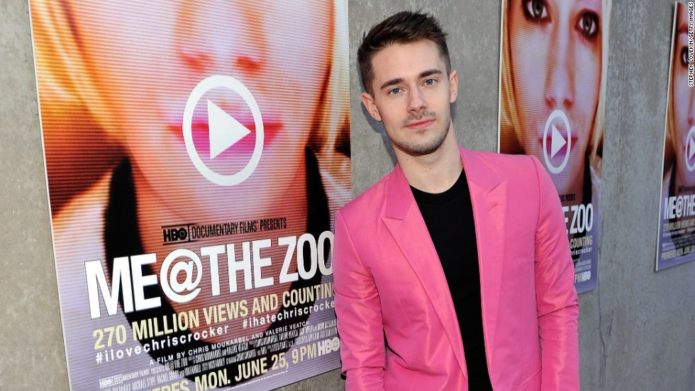 "One night in 2007, Chris Crocker had had enough. The coverage of Britney Spears' various troubles at the time caused him to record the heartfelt, tear-filled plea <a href=""http://www.youtube.com/watch?v=kHmvkRoEowc"" target=""_blank"">""Leave Britney Alone!"" </a>Nearly 50 million views later, Crocker's life was documented in ""Me @ the Zoo."""