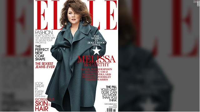 Some outraged over McCarthy's Elle cover